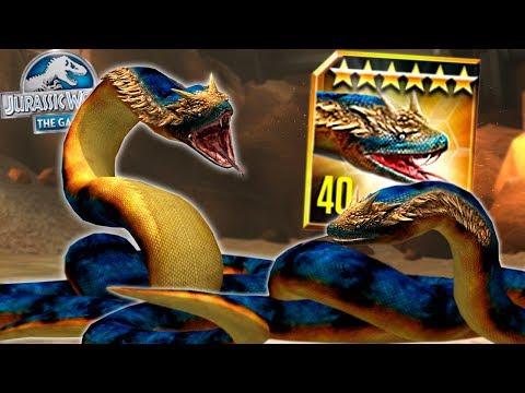 DEADLIEST TITANOBOA MAXIMUM LEVEL 40 - Jurassic World The Game - *Feeding and Battling* HD