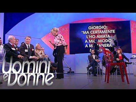 Uomini e Donne, Trono Over - Un duro scontro tra Gemma e Giorgio