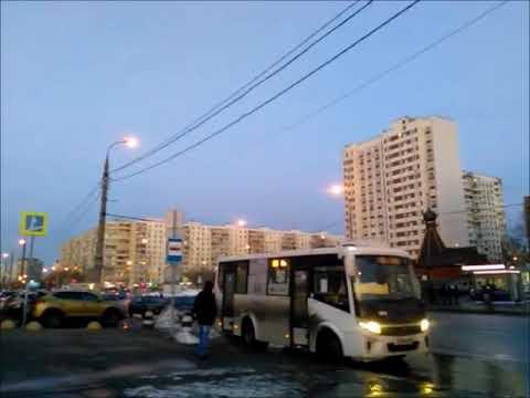 Москва, район Отрадное 16.02.2019