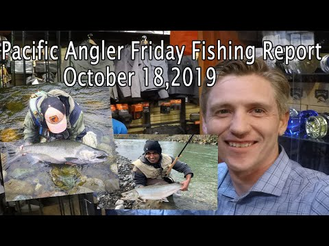Pacific Angler Fishing Report Oct 18, 2019