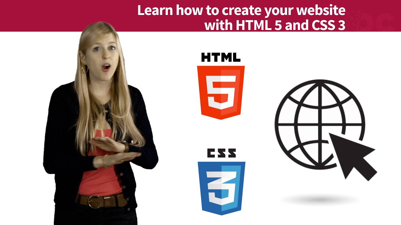 learn how to make a website with html and css