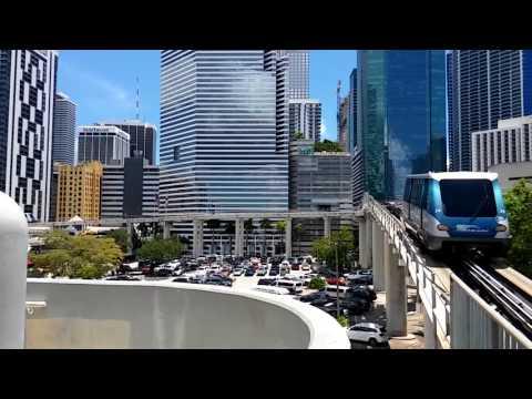Miami Metromover - Third Street Station (8.14.17)