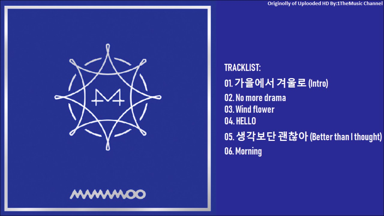 faccc1af790b08 FULL ALBUM] 마마무(MAMAMOO) - BLUE;S (8th Mini Album) - YouTube