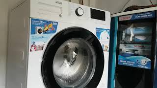 New beko washing machine ) 9 củ 9 cân /Đập hộp được máy giặt cửa ngang Beko !