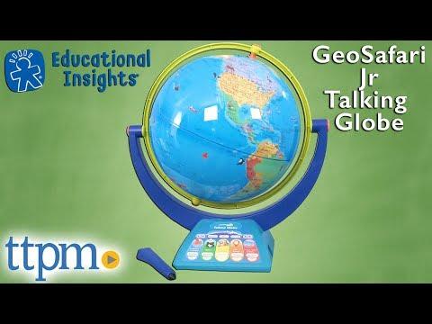 GeoSafari Jr. Talking Globe from Educational Insights