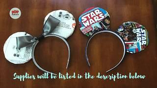 DIY  Fabric and Foam Mickey Ears