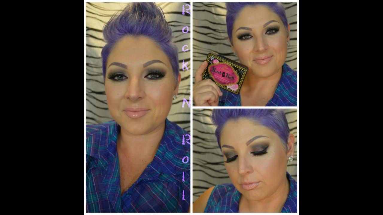 Eye Makeup Tutorial, Using the Too Faced Rock N Roll ...