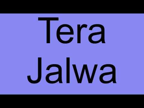 Tera Jalwa Ringtone - Sudh Music