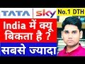 Tata Sky No 1 DTH In India | Best DTH Service In India | Which Is the Best Set-Top Box | DTH Company