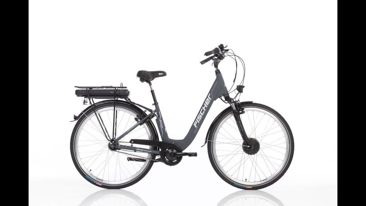 fischer city e bike ecu 1801 youtube. Black Bedroom Furniture Sets. Home Design Ideas