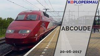 Treinen Compilatie station Abcoude (20 juni 2017)