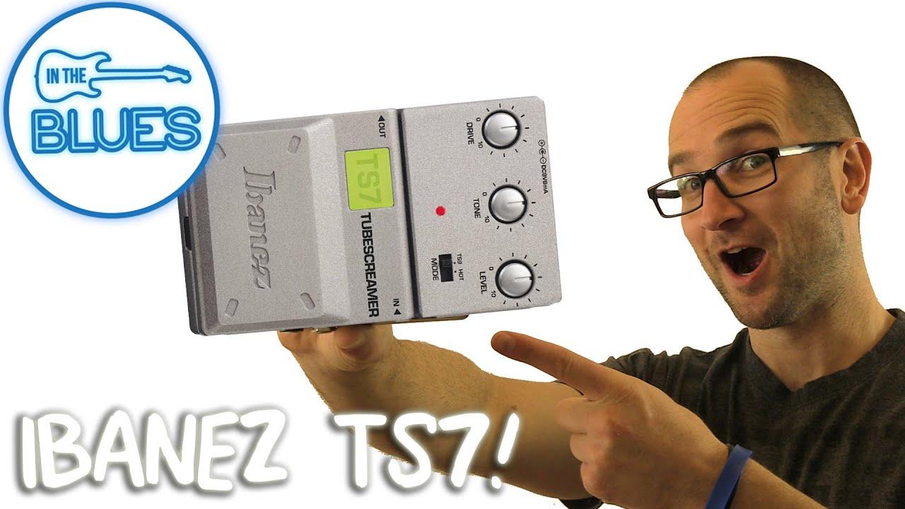 Ibanez Ts7 Tubescreamer Overdrive Pedal Modded
