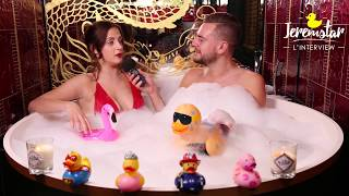 Julie (Secret Story 11) dans le bain de Jeremstar - INTERVIEW