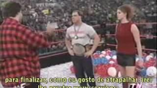 Best promos of 2000 → Kurt Angle the new WWF Champion! [2/2]