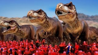 Dinosaurs in Ultimate Epic Battle Simulator? Hell Yes! Now they jus...