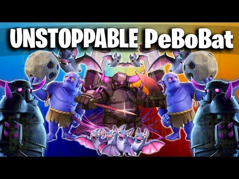 Pekka + Bowler + Bat Spell = PeBoBat Unstoppable TH12 Clan War Attack 2019 - Clash Of Clans