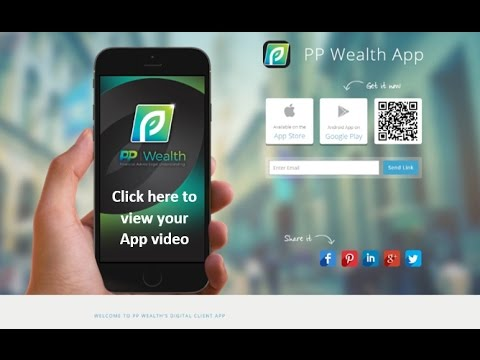 PP Wealth's Digital Client App