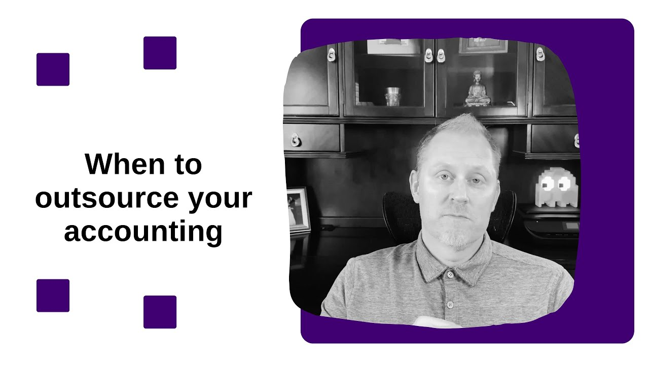 When to outsource your accounting