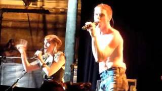 The Scissor Sisters - Running Out. Camden Roundhouse, London. 01/07/10