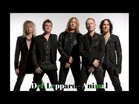 Def Leppard - Animal (Lyric Video)