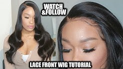 CLIENT SERIES: Installing a 6inch deep part 360 lace frontal wig | Chinalacewig