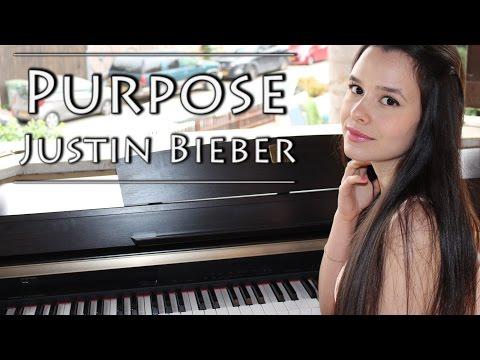 Justin Bieber - Purpose | Piano Cover By Yuval Salomon