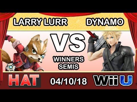 HAT 17 - MSF | Larry Lurr (Fox) Vs. iNX | Dynamo (Cloud) Winners Semis - Smash 4