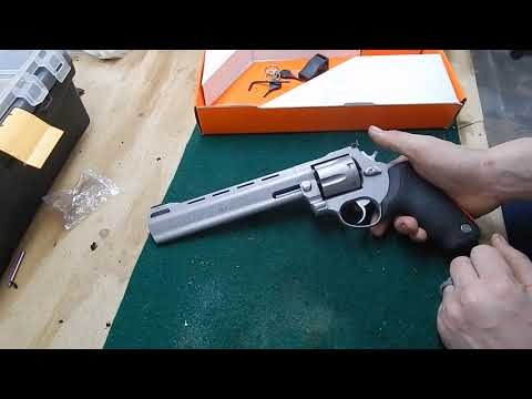 First look at the Taurus Raging Bull 444, 44 magnum Revolver