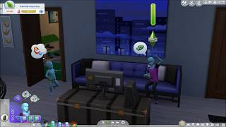 The Sims 4: Child Playing MySims Racing