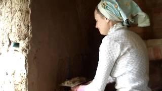 Штукатурка саманных стен внутри дома.(, 2013-07-11T04:19:02.000Z)
