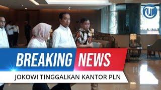 Detik-detik Presiden Jokowi Keluar Ruangan setelah Plt Dirut PLN Jelaskan Mengenai Pemadaman Listrik