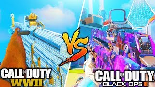 Black Ops 3 VS. Call Of Duty WW2..! (HUGE DIFFERENCE)