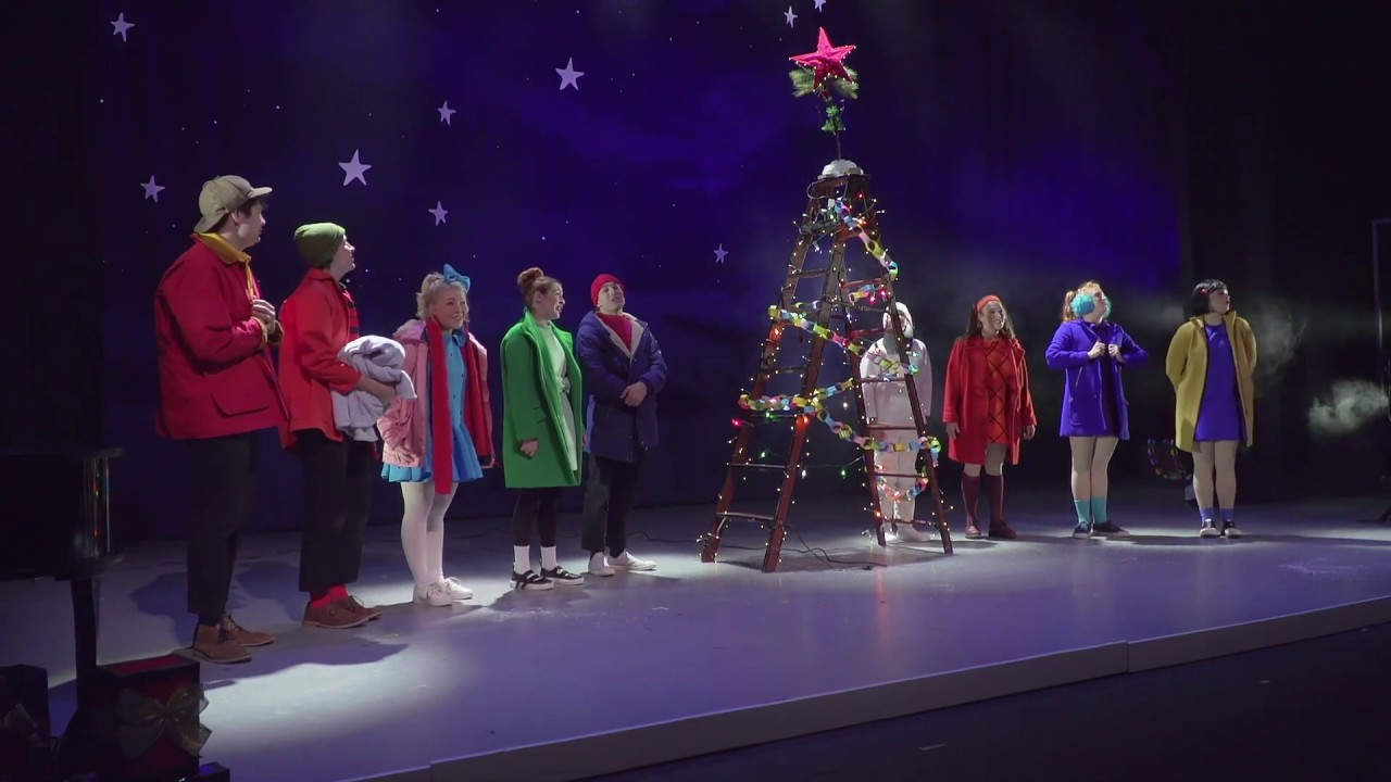 Youtube Charlie Brown Christmas Music.A Charlie Brown Christmas Live At The Eccles