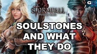 Stormfall: Rise of Balur - All about Soulstones and What They Do