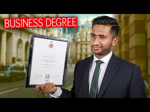 Is a BUSINESS DEGREE worth it in 2020? *spilling tea on the employability*