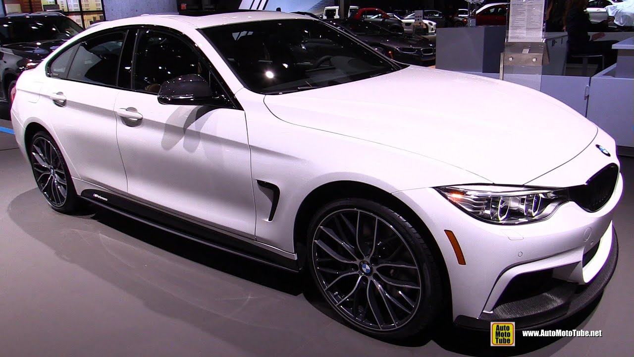2016 bmw 435i xdrive gran coupe m performance exterior interior walkaround 2016 ny auto show