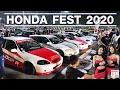 【4k】walking In Honda Fest Car Meet 2020 Pattaya งานรวมตัวชาวฮอนด้าที่สุดของไทย!!!