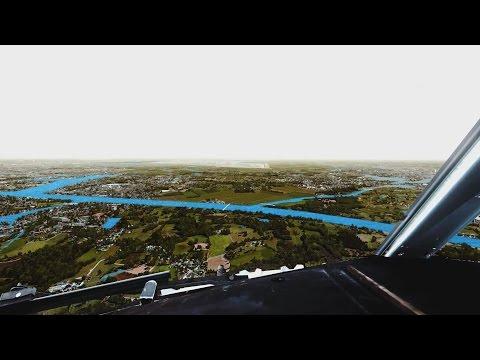 FSX 2016 - PMDG B739 Landıng Amsterdam Schiphol Airport [Extreme Graphics]