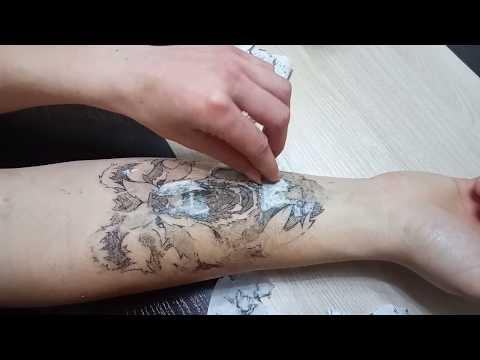 Как сделать временную татуировку в домашних условиях с помощью принтера