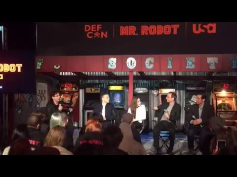 Life in a Post Mr. Robot World - panel at Tribeca Film Festival 2016