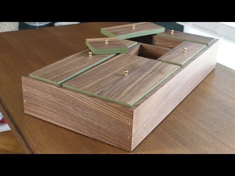 Making a Walnut and Brass Jewelry Box