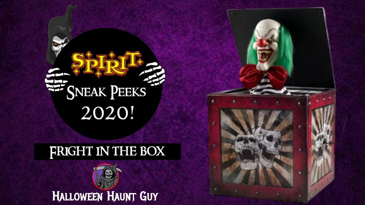 Halloween Haunt 2020 Site:Youtube.Com Fright in the box | Spirit Halloween 2020 Sneak Peeks   YouTube