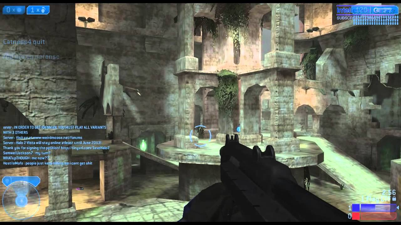 Halo 2 Pc Capture The Flag Map Relic 1st Game Multiplayer 01 Youtube