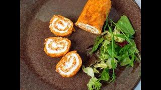 Морковный рулет Этот рецепт стал для меня открытием Он просто нереальный без муки и сахара