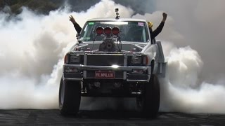 Burnout Masters Top 10 at Summernats