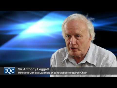 Sir Anthony Leggett on The University of Waterloo & IQC