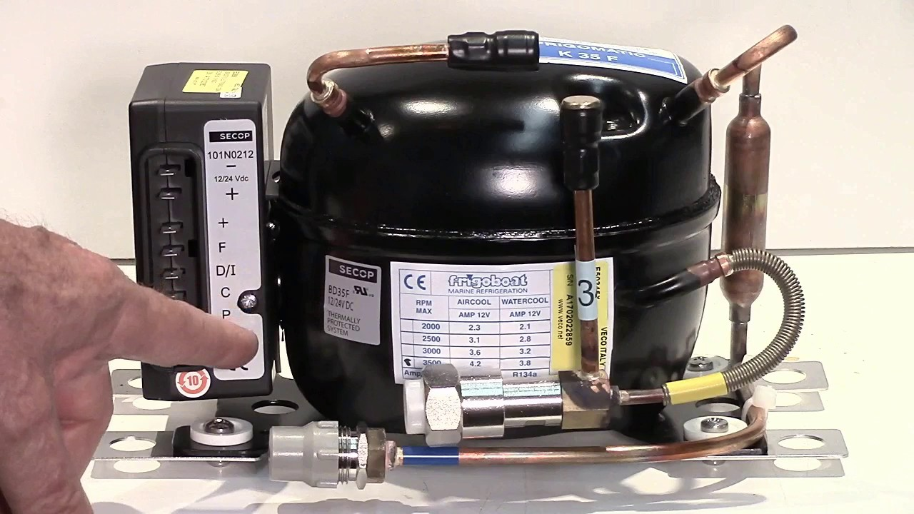 Tech Tip - Danfoss/Secop BD35 and BD50 Compressor Overview