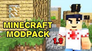 Minecraft ModPack 1.8 - ( PACK DE MODS 1.8 11 Mods ) [01]
