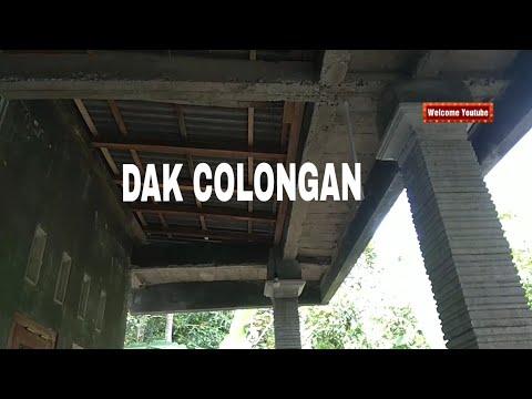 Model Dak Teras Rumah Sederhana colongan cor dak beton teras depan rumah youtube