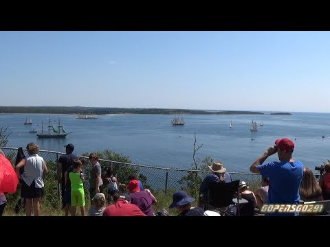 Tall ships festival parade of sail halifax 2017